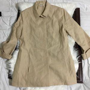 Max Mara Made in Italy Linen Jacket